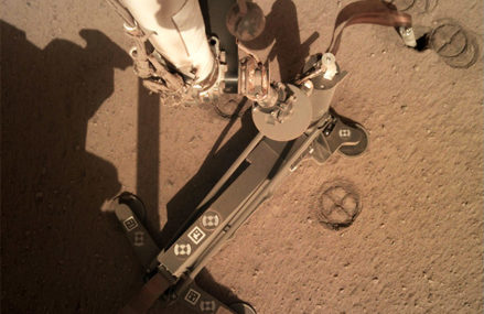 NASA Engineers Are Trying To Find Out the Reason : A 'Mole' Isn't Digging Mars