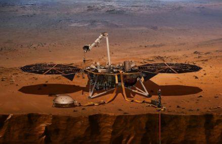 On Mars NASA's InSight lander formally finding 'marsquakes'
