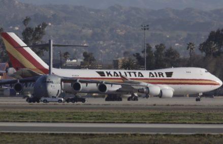 In San Antonio Plane conveying coronavirus evacuees to JBSA-Lackland has arrived