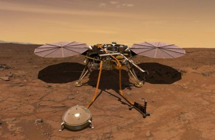 Than the Scientists Expected NASA's Mars Lander Are 10 times Stronger Magnetic Fields Around