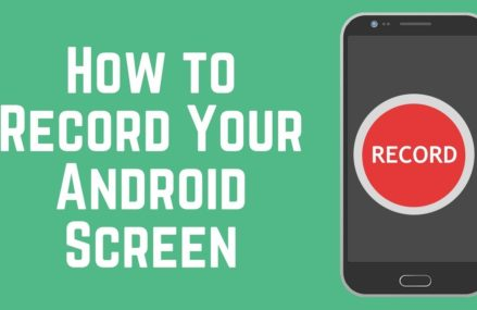 Easiest way to record your telephone screen on an Android telephone