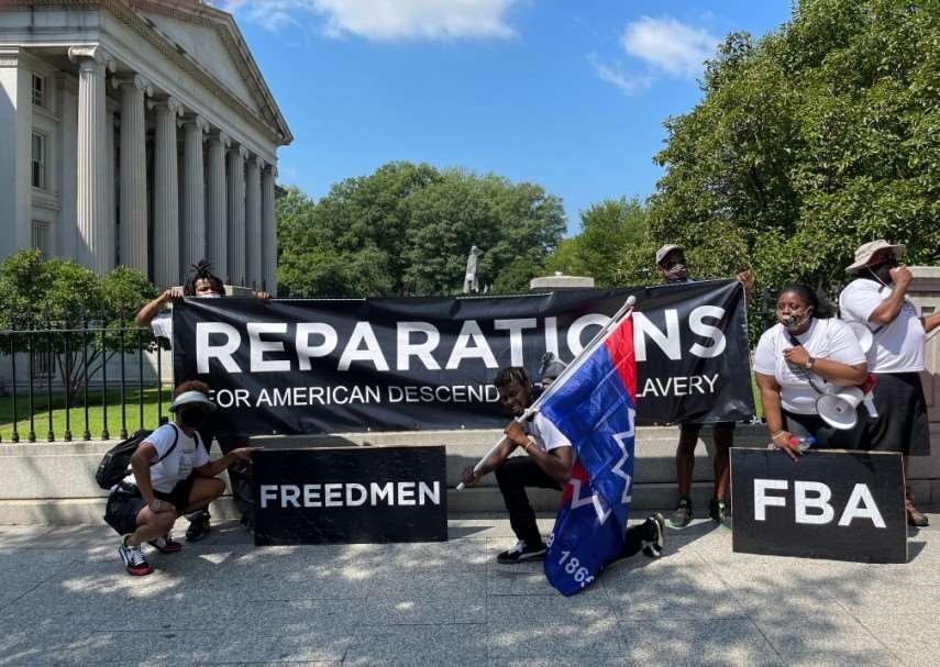 Reparations demonstration